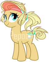 Pony OC ADOPTABLE [SOLD] by pepooni