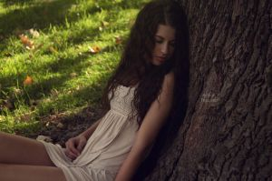 Dreaming girl by fae-photography