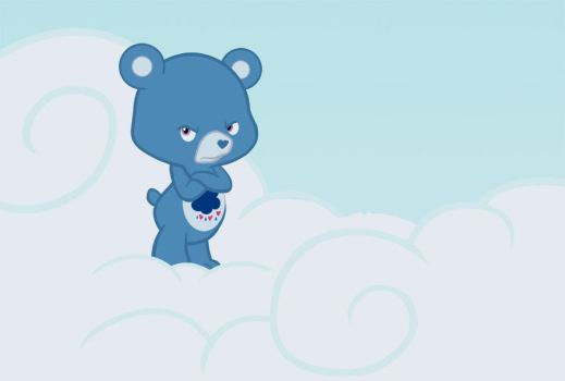 Care Bears are magic too by N8KELLY