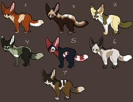 New points adoptables by V1KA
