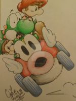 color pencil 4 cheepcheep ride by music-missy