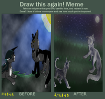 Meme before and after by XxEvias-Toxic-LovexX