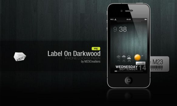 LS Label On Darkwood .eng by M23creations