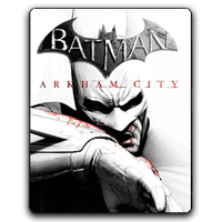 Batman Arkham City Icon by Joshemoore