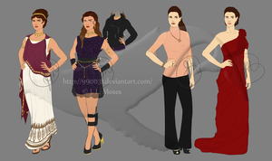 C: Julia/Katie Outfit Design by 990031