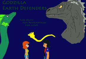 Godzilla Earth Defender Promo1 by raptorrex07