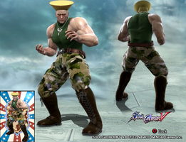 SoulCalibur V: Guile by Klobb17 by Armoun