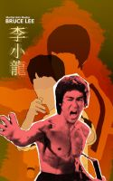 Bruce Lee by r4nd0mpunk