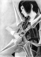 advent children yuffie by leon7929