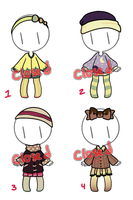 OC Outfit Adopts 3 (CLOSED) by orichara