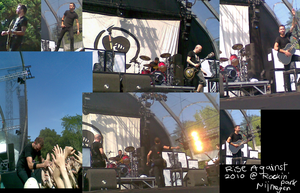 Rise against  rockin park 2010 by gamertjecool