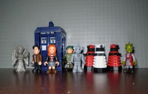 Doctor Who Mirco Figures by CyberDrone