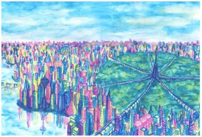 City of the future by Mobicca