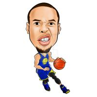 Stephen Curry by think2wise07