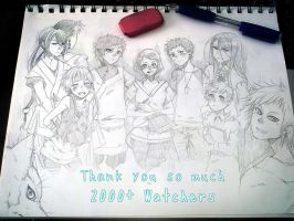 Thank you!! 2000+ watchers by CottonCandyStar