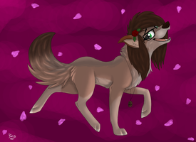 Wolf Request for XxAnthro16xX by Elana-Louise