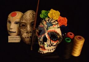 Drawwi's Halloween Masks Papercrafts by drawwithme15