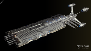 Nova class light cruiser by Progenitor89