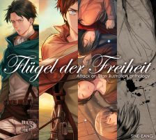SAMPLE - Attack on Titan illustration anthology by sine-eang