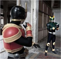 KR.Kuuga.VS.KR.Decade by wisephotography