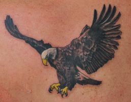 Eagle Tattoo by joshing88
