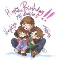 Happy Birthday my Babies by Swamnanthas