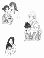 YYH Mothers WIP by sweetsnow73