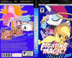 Fighting is Magic PSP fan Boxart by rorycon