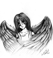 ..Fallen Angel.. by imaginary-ang3l