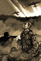 A soldiers letter in sepia by DesingAHV