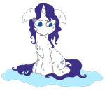 Rarity All Washed Up by LiteraryRarity