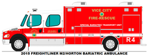 Vice City Fire Dept. Rescue 4 by MisterPSYCHOPATH3001