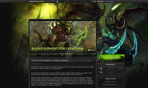 World of Warcraft Template by E-moX