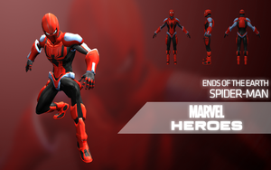 Marvel Heroes - Spider-Man (Ends of the Earth) by LEMOnz07