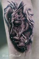 Stevie ray vaughan by state of art tattoo on deviantart for Stevie ray vaughan tattoo