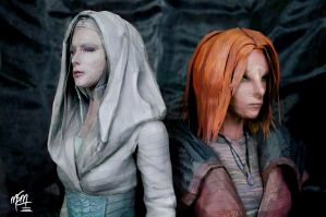 Defiance Stahma and Irisa Papercrafts by studioofmm