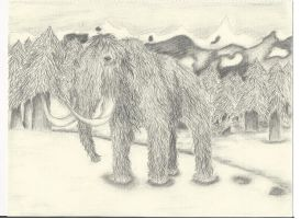 Woolly Mammoth by Spottedleaf24