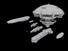 MY Ships WIP by ld810103
