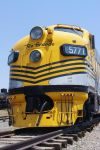 Big Yellow Train from the 50s by jackelares