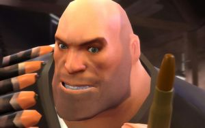 Heavy Weapons Guy: Bullet by rrc589