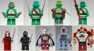 TMNT all the minifigs by MG18