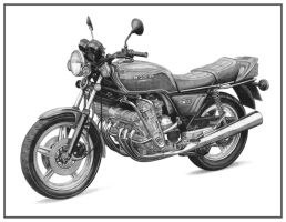 Honda CBX by NicksPencil