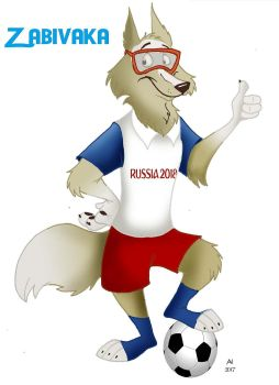 Zabivaka, the wolf by FairytalesArtist