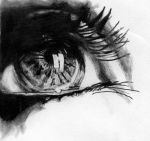 Eye drawing 3 by IYIaglin