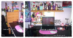 My Desk by thisy