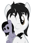 Piecee Pone Hugs the Night by MrLolcats17