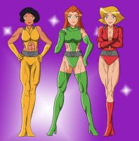 Totally Spies Pinup - Ver. 1 [Commission] by Abdomental