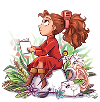 Arrietty by sharkie19