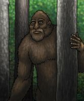 Sasquatch by SkyJaguar