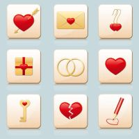 Love icons_2 by ElStrie
